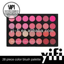 28 Blush Palette silky baked powder blush