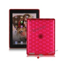 For iPad 4 Gel Case, 2013 New TPU Gel Case for iPad 4