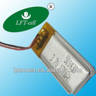 3.7V 170mah 501430 LiPo rechargeable Battery with competitive price