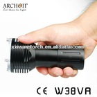Special design! High power 1400 Lumens underwater led photographing light, photography equipment W38VR(CE&Rohs IP68)