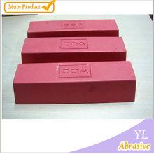 Guangzhou aluminum oxide polishing compounds /white polishing bar /polishing compound with sisal wheel