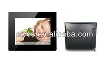 10.4 inch fancy black digital frame photo