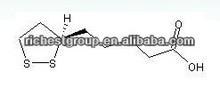 Alpha Lipoic Acid ;DL-Thioctic acid;Protogen A;Pyruvateoxidation factor;Thioctacid;CAS 1077-28-7