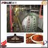 vacuum belt dryer for cocoa paste