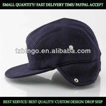 Ear Warmer Custom 5 Panel Hat