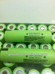 Panasonnic 18650 2250mAh battery with original package