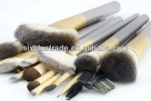 Popular design mini nylon hair cosmetic brush set