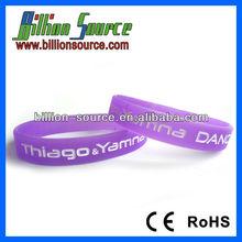 2013 silicone wristband Braccialetti silicone for Italia clients