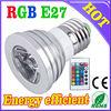 BIG Discount at NEW Style 1X3W rgb e27 led bulb