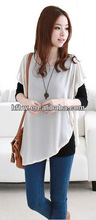 2013 han edition of loose big yards long sleeve lace fake two piece snow spins unlined upper garment