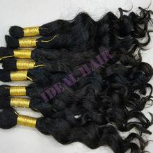 human hair bulk braiding blonde virgin brazilian hair