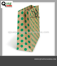 paper bag polka dot