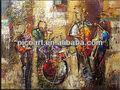 2013 abstrato moderno instrumento Musical arte pintura a óleo