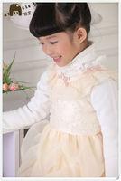 NEW ARRIVAL FASHION ELEGANT LITTLE GIRL WINTER FORMAL DRESSES