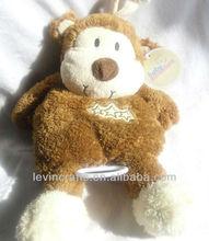 13032203 Baby Adventure Pulling Music Plush Animal Crib Toy