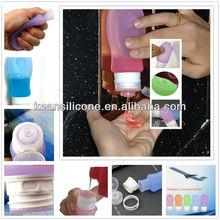 Botella del recorrido / tamaño de viaje botellas rellenables / dial jabón jabón de recarga