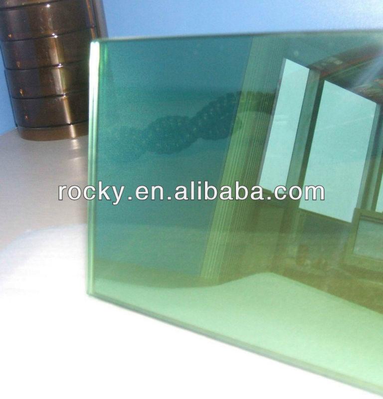 I migliori prezzi 4mm-8mm/4mm verde scuro vetro float riflettente 1524x2134,3300x2134, ecc. Coniso9001& certificato del ce