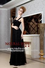2012 magical black sheath style evening dress NE1236