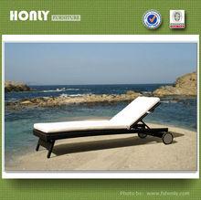 Waterproof outdoor furniture beach sofa bed