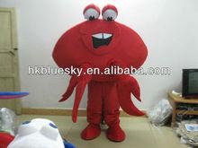 2013 Mascot costume crab,carb costume for advertising