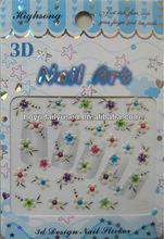 New Styles 3D Nail Art Polish Foils Decal Sticker Wraps Decoration