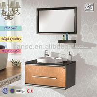 apartment corner antique bathroom cabinet .vanity unitHS-C2817