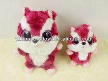 Big Eyes Plush Squirrel Toy