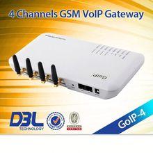 4_sim gsm voip adapter,Relay server ,GOIP4