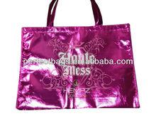 Purple Polypropylene Non Woven Shopping Bag