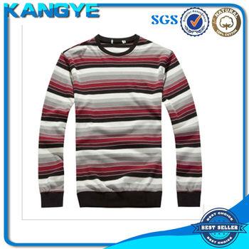 new trend stripe korea design men fashion t shirt