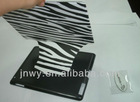 2 in 1 design, special design stand leather case for ipad3,PC case for ipad3 with stand fucction