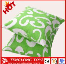 Beautiful and soft square shape plush pillow,stuffed pillow