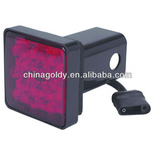 Trailer Hitch Cover With 12 LED Brake Light