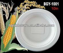 Cornstarch Biodegradable Eco-Friendly Tableware (plate&dish)