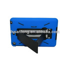 Blue Portable Hard Skin Clear Case Cover For Ipad mini,best price cover case for ipad