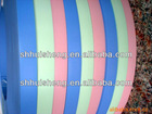 particle board bicolor elegant surface pvc edge banding with good toughness and flexibility
