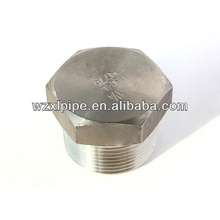 stainless steel NPT hex plug
