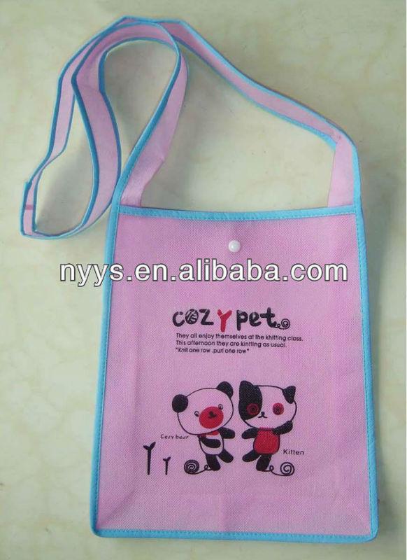 Printed non woven bag//single-shoulder bag