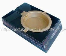 Custom brand black crystal promotional ashtray in superb quality