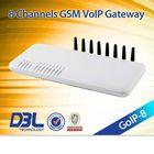 gsm gateway with 8 sim card port,GoIP-8