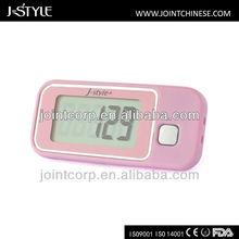 J-Style Japanese Tech High Accuracy 3D G Sensor Waterproof Gift Pocket Digital Promotion Step Meter Fitness Pedometer Walking