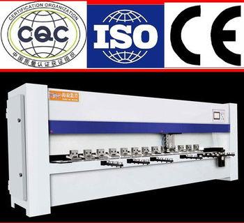 Hrui stainless steel CNC Pneumatic v-groove steel cutter ,bender, machine, V piercing machine