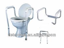 Healthcare equipment aluminium alloy adjustable Toilet safety rail