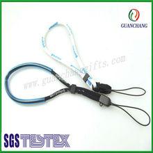 2013 tubular blank cell phone wristband with soft tubular PVC,jacquard weave cell phone wristband