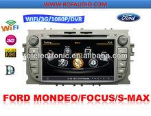 Special Car DVD GPS Navi Autoradio Headunit For Ford Mondeo with 3G
