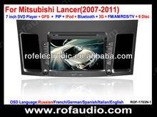 car entertainment dvd navigation for Mitsubishi Lancer(2007-2011)