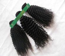 Jiaozhou Qingdao Dingli hair 100% mongolian hair kinky curly mongolian hair weaves