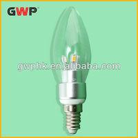 Cheap 3W 5W 7W E4 B15 High Power Led Candle Bulbs