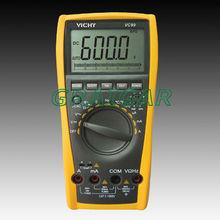 Vichy VC99 3 6/7 Auto range digital multimeter with bag better FLUKE 17B