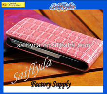 high crocodile leather case for iphone 5 5g